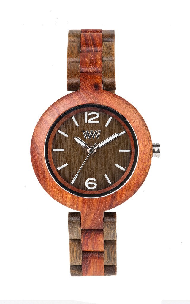WeWood Mimosa Brown Army Wooden Watch