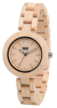 WeWood Mimosa Beige Wooden Watch