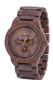 WeWood Kappa Chocolate Wooden Watch