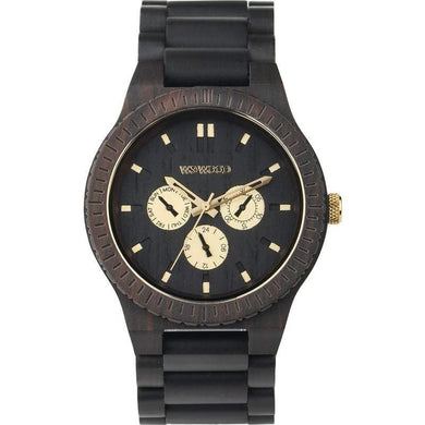 WeWood Kappa Black RO Wooden Watch