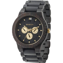 WeWood Kappa Black Gold Wooden Watch