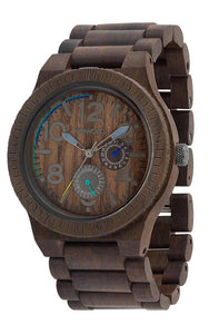 WeWood Kardo Chocolate Wooden Watch