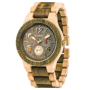 WeWood Kardo Army Beige Wooden Watch