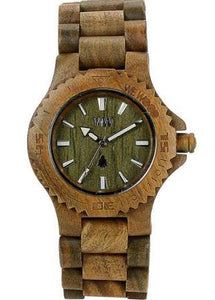 WeWood Date Army Wooden Watch