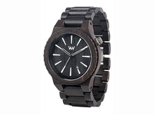 WeWood Assunt Black Wooden Watch