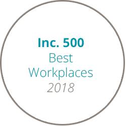 Inc 500 Best Workplaces 2018