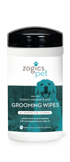 Zogics Dog Grooming Wipes