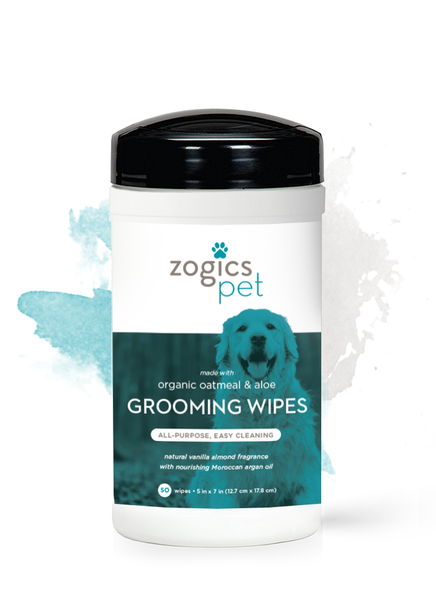Oatmeal & Aloe Dog Grooming Wipes