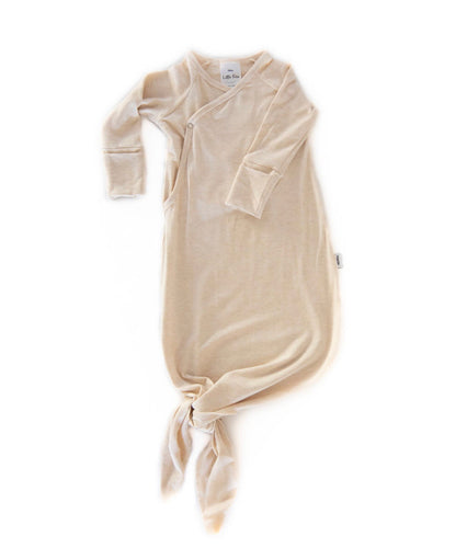 Infant Knot Gown (Heather Almond)
