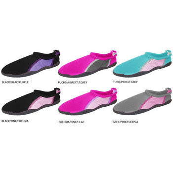 Wholesale Girl's Aquas Shoes with Drawstring (1 Case)