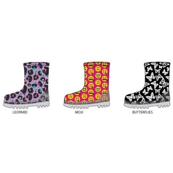 Wholesale Girl's Printed Rainboots (1 Case)