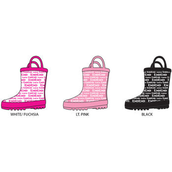 Wholesale Girl's Toddler Girl's Printed Rainboots (1 Case)