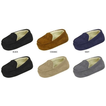 Wholesale Toddler Boy's Mocassin Slippers (1 Case)