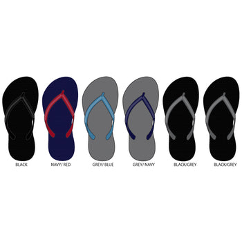 Wholesale Boy's Solid Color Flip Flops (1 Case)
