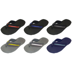 Wholesale Boy's Sandal with Nubuck Contrasting Upper (1 Case)