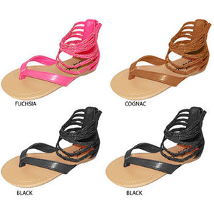 Wholesale Girl's Ankle Strap Sandal (1 Case)