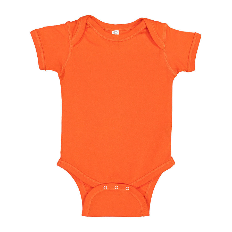 Custom Onesie Orange Fish & Life Series