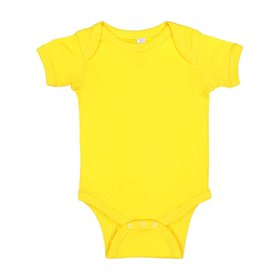 Custom Onesie Yellow Fish & Life Series