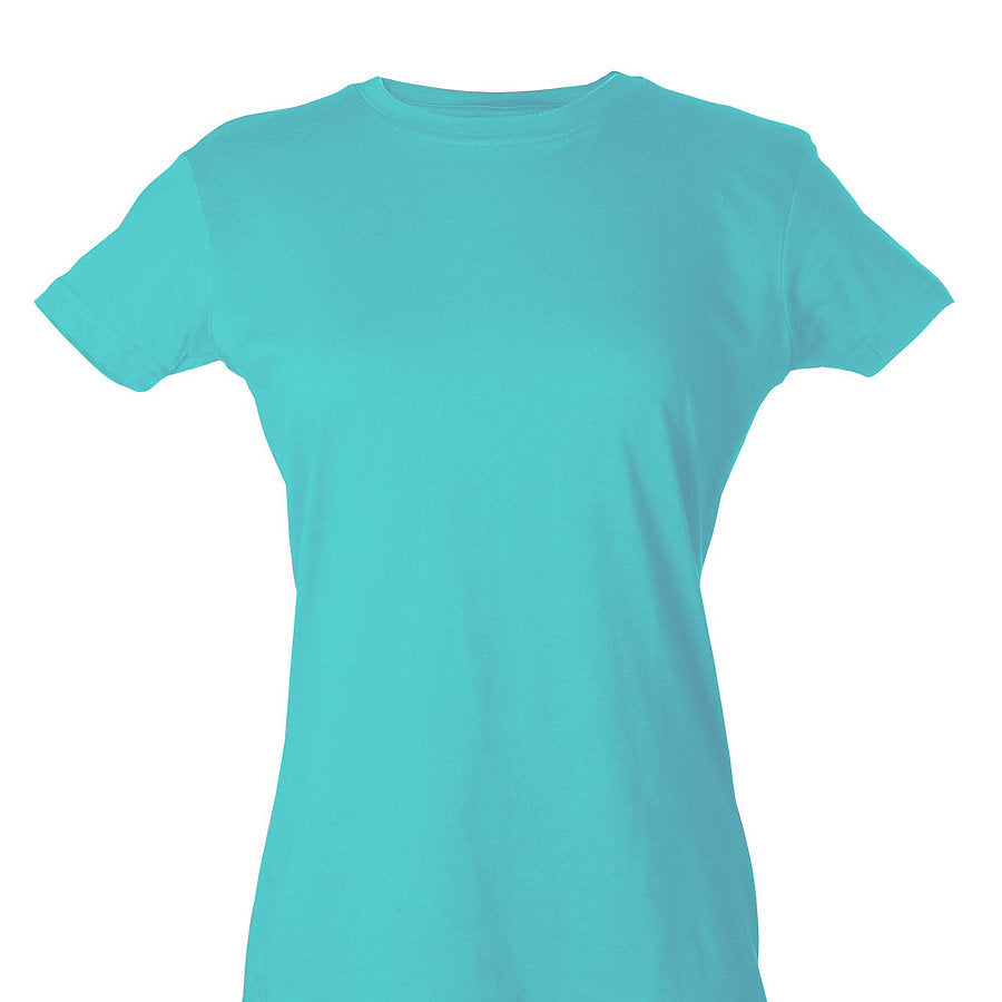Custom Women's Shirt Turquoise Fish & Life Series