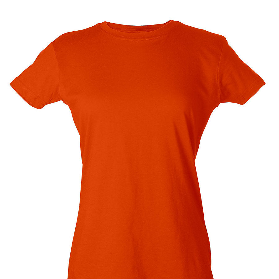 Custom Women's Shirt Orange Venice Series