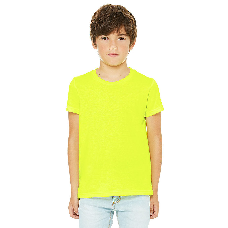 Custom Unisex Youth Shirt Yellow Venice Series