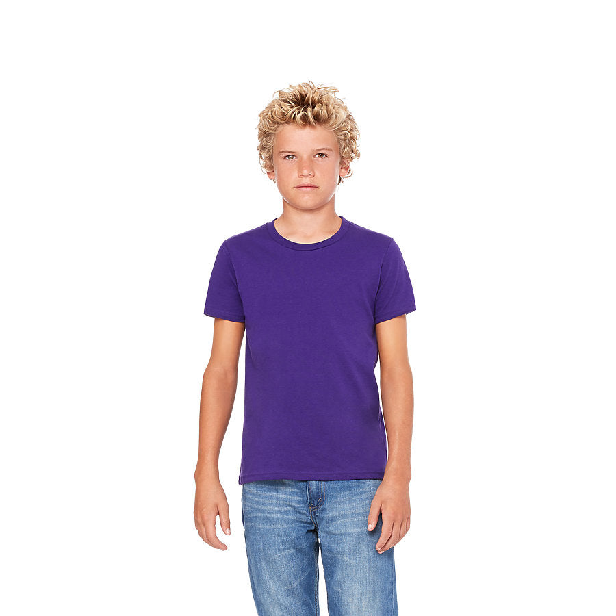 Custom Unisex Youth Shirt Purple Venice Series