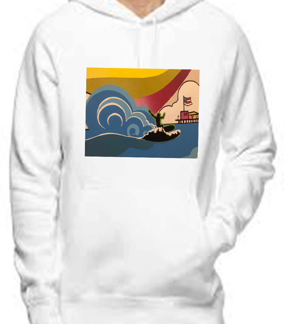 Surfs Up Women's Hoodie