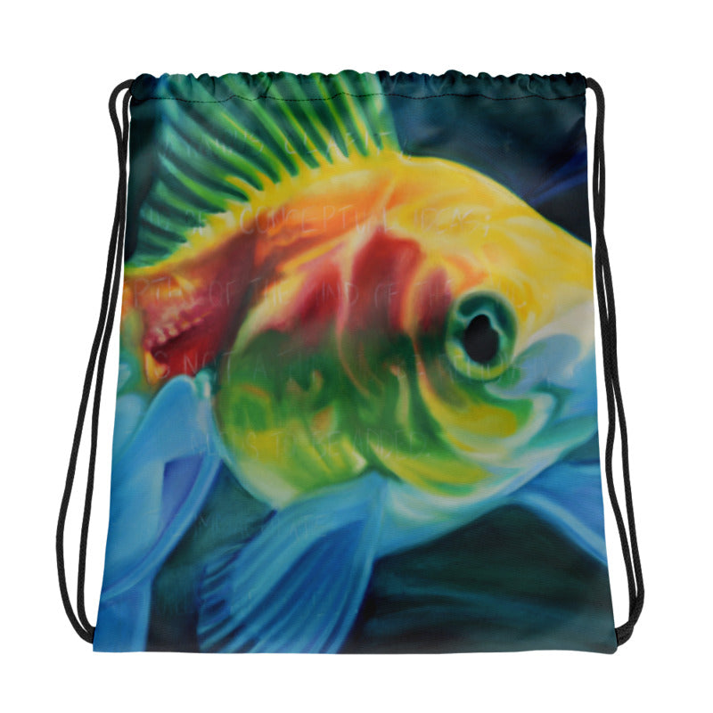 Dambara Beauty Drawstring Bag