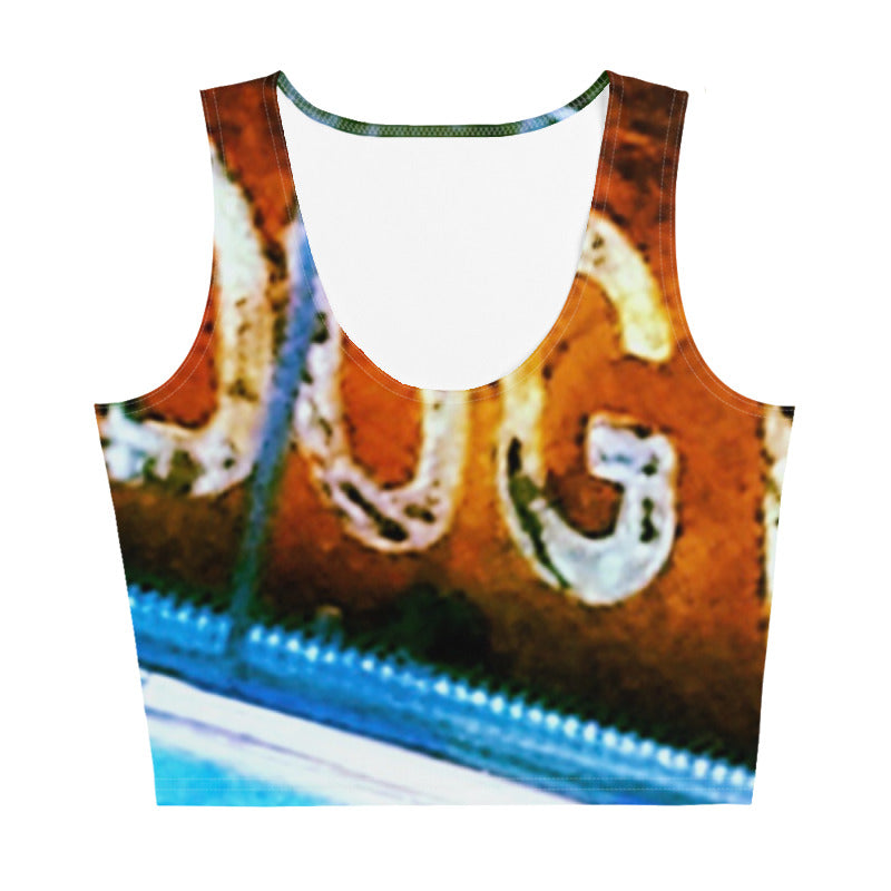 Dogtown Grunge Crop Top
