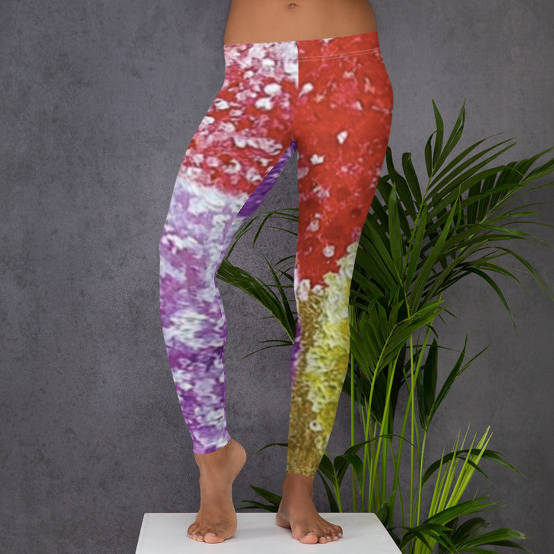 Dots Low Rise Yoga Pants