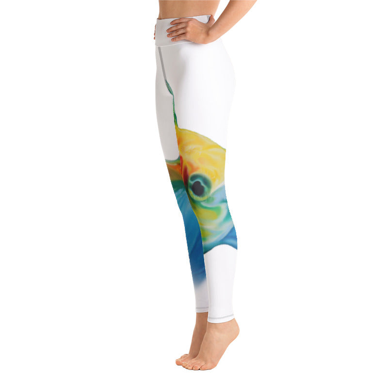 DAMBARA-BEAUTY HIGH RISE YOGA PANTS