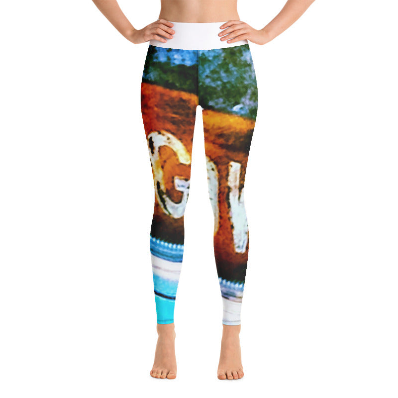 DOGTOWN-GRUNGE HIGH RISE YOGA PANTS