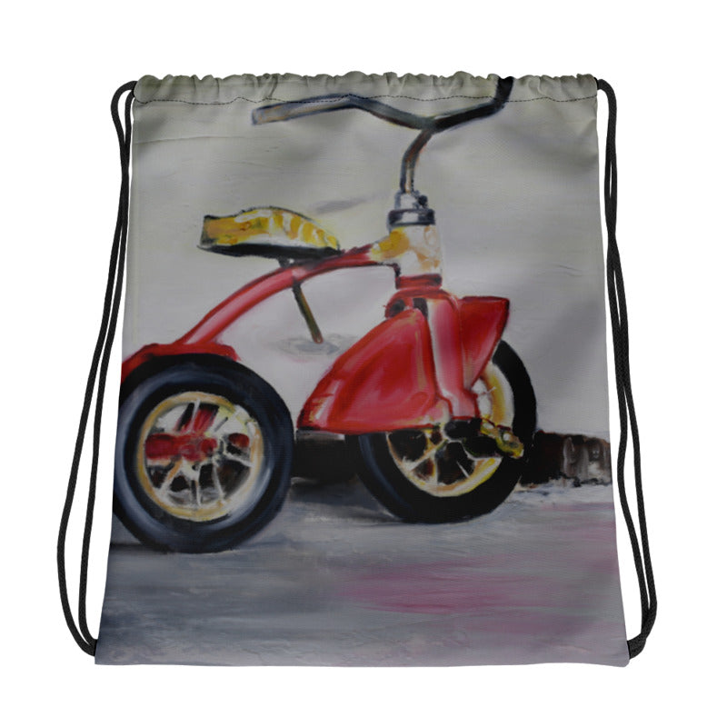 First Ride Drawstring Bag