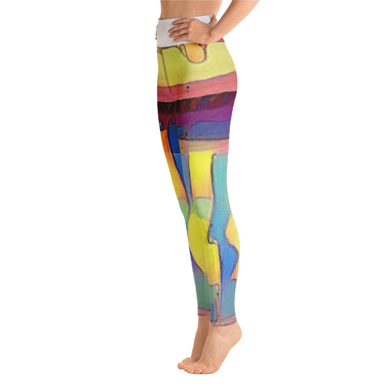 HOT-DIGGITY HIGH RISE YOGA PANTS