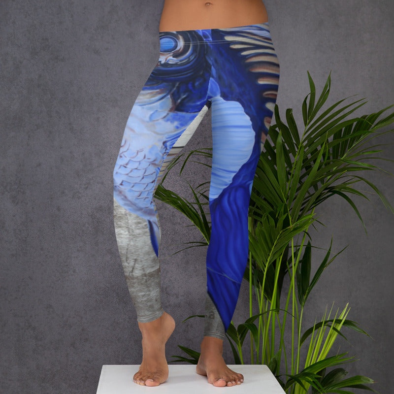 Krishna Perfume Low Rise Yoga Pants