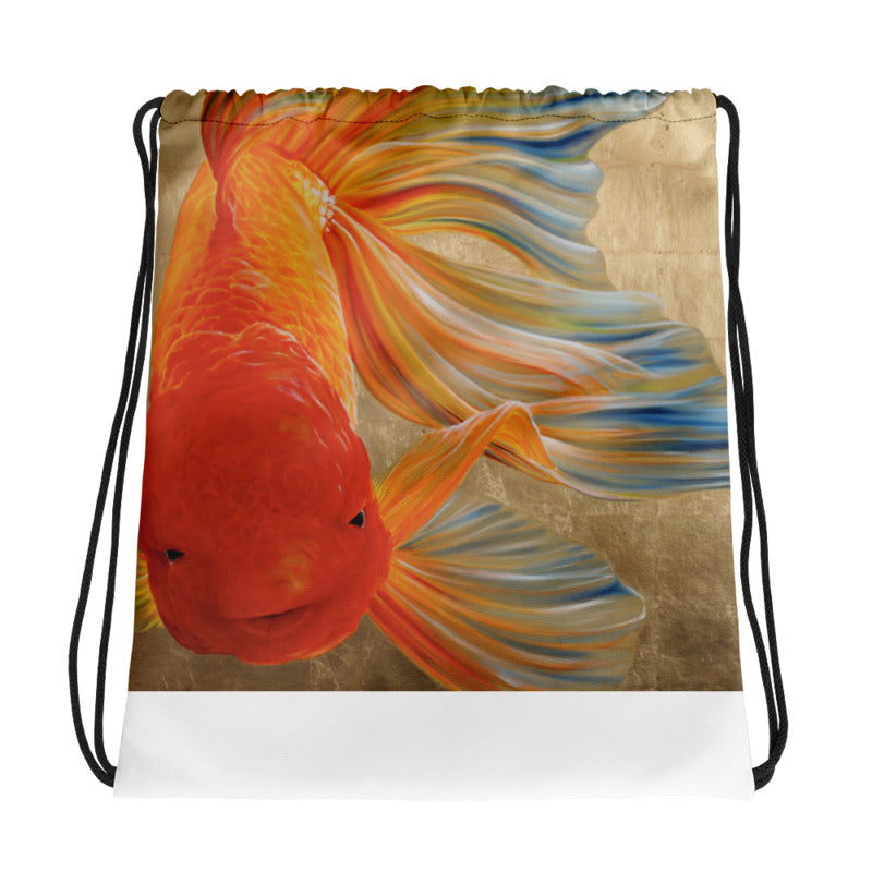 Parakrama Courage Drawstring Bag