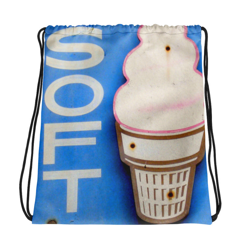 Soft n Creamy Drawstring Bag