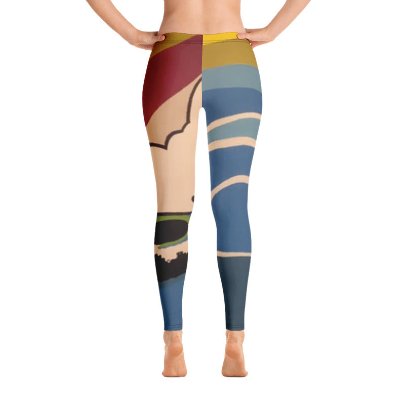 SURFS-UP LOW RISE YOGA PANTS