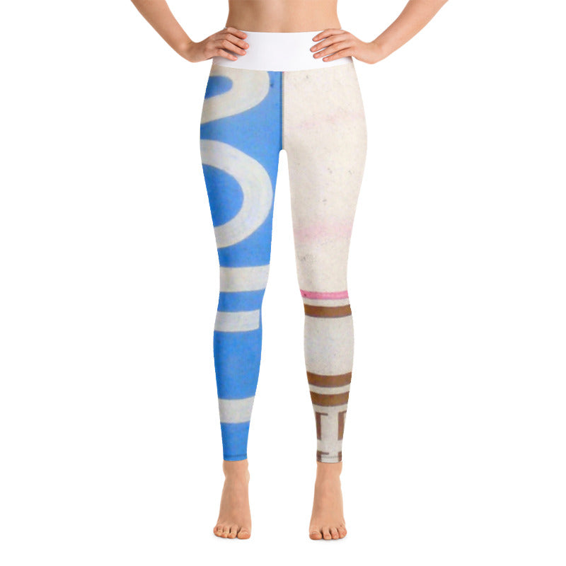 SOFT-N-CREAMY HIGH RISE YOGA PANTS