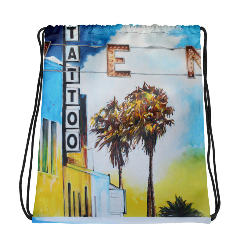 Windward and Pacific Drawstring Bag