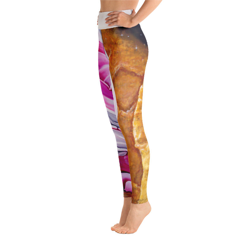 WAFFLES HIGH RISE YOGA PANTS