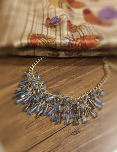 Party wear crystal necklace