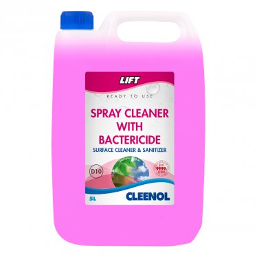 Cleenol Lift Spray Cleaner with Bactericide 5Ltr