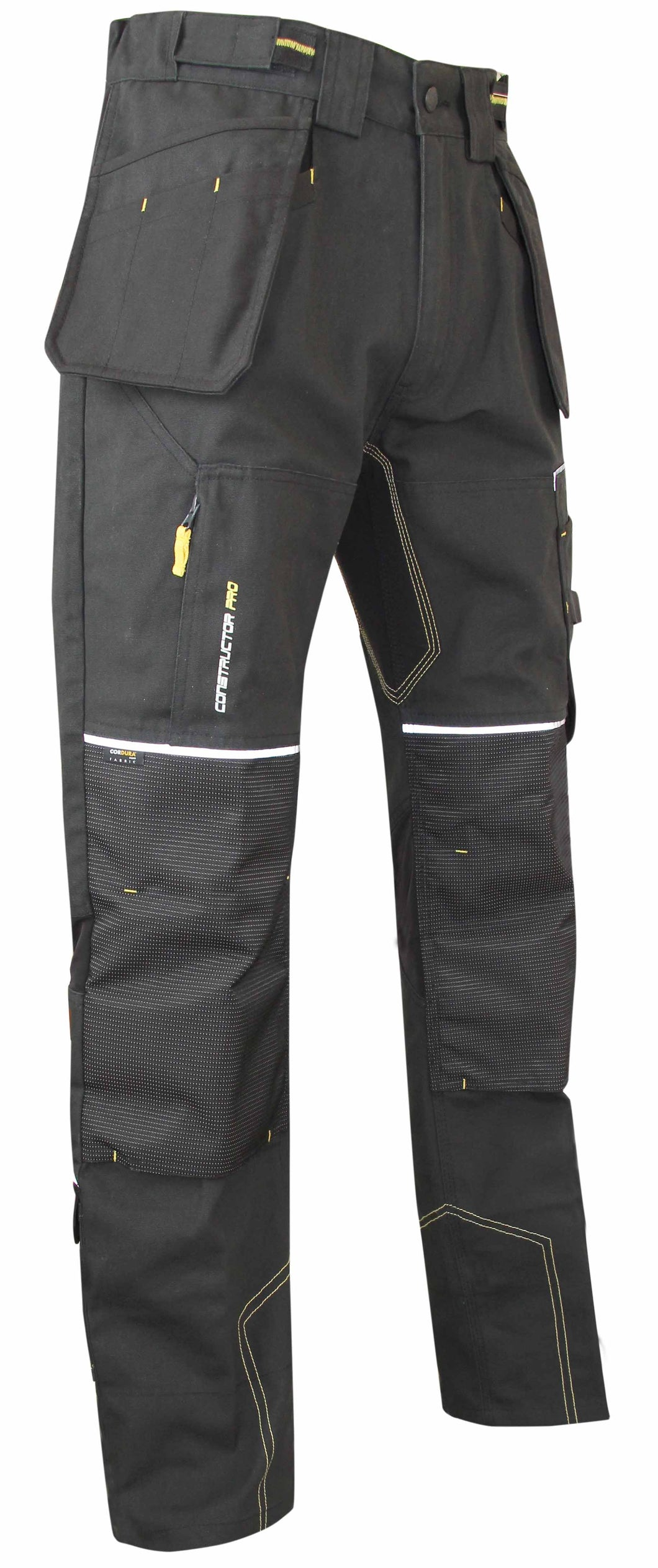 LMA Workwear Etabli Canvas Holster Trousers with Kneepad Pockets