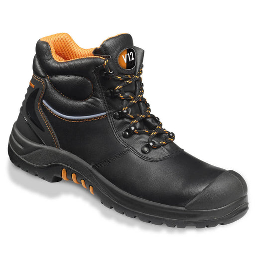 V12 Footwear VR657 Endura II Black Safety Boot