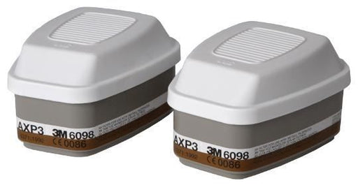 3M 6098 AXP3 Filters for Gas and Vapour