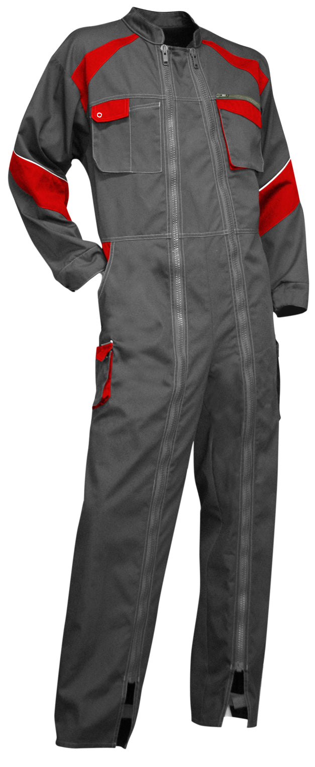 LMA Workwear Luzerne Two Tone Double Zip Coverall