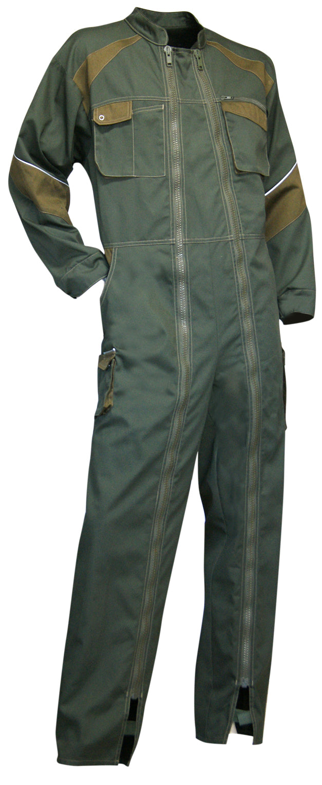 LMA Workwear Fourche Two Tone Double Zip Coverall