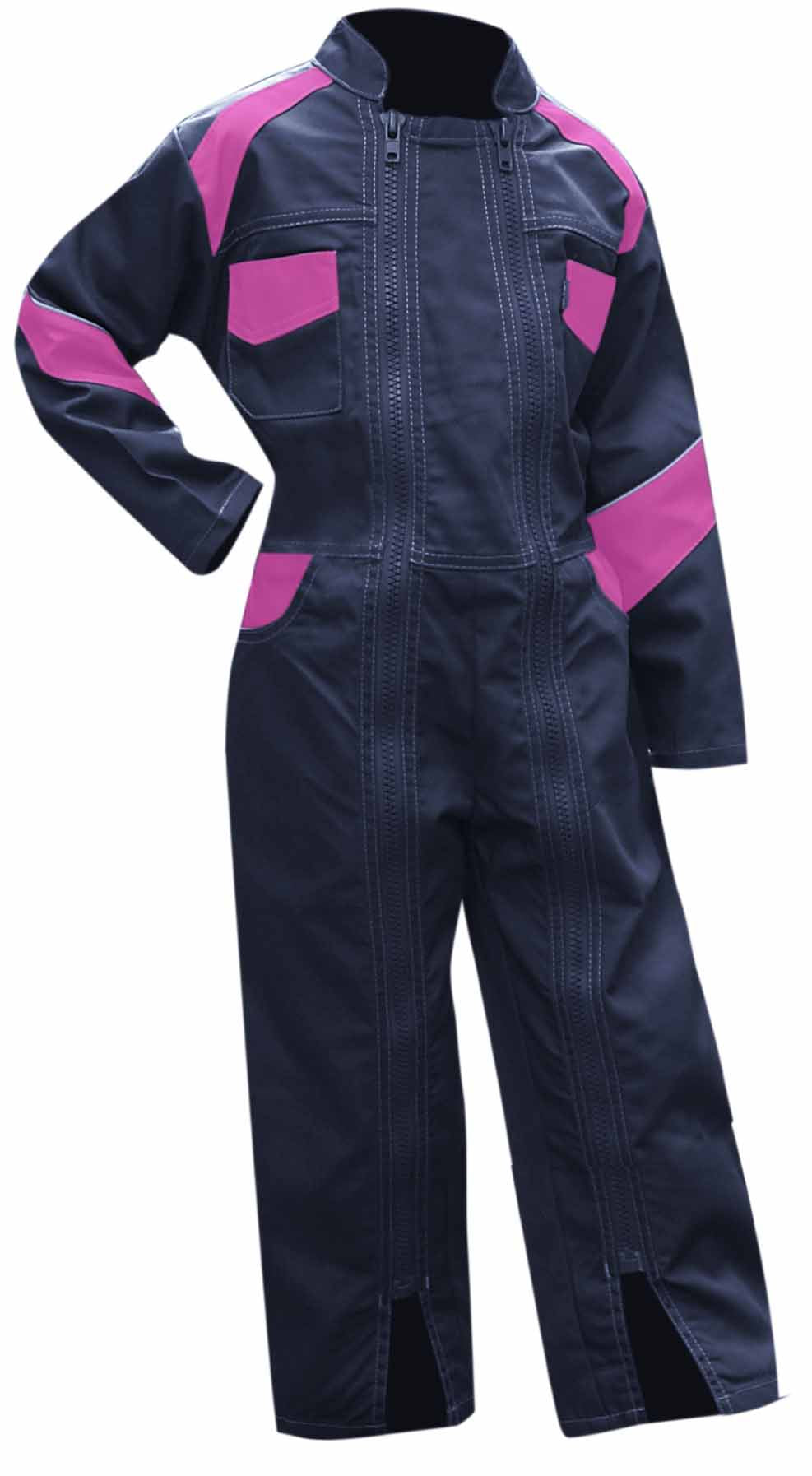 LMA Workwear Fleur Two Tone Kids Coverall