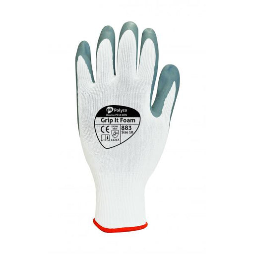 Polyco Grip it Oil Foam Glove